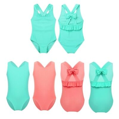 Baby Girl One-piece Swimsuit Swimwear Backless Bathing Swimming Jumpsuit Costume