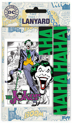 DC Comics Joker Lanyard Festival Pass Comic Geek Batman Superman
