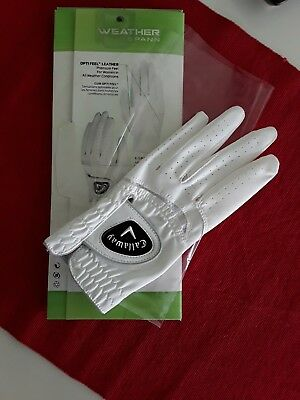 Callaway Weather Spann Damen Golf-Handschuh (Gr.L, linke Hand)