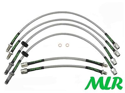 Bmw Z4 E85 E86 3.0 2.5 2.2 Roadster Coupe S/Steel Braided Brake Lines Hoses Bpw
