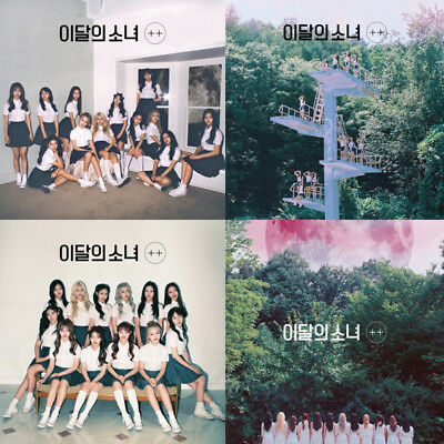 MONTHLY GIRL LOONA [+ +] Debut Mini Album CD+POSTER+Photo Book+Card K-POP SEALED