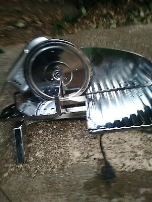 """Electric Stainless Steel Food Meat Slicer Deli Cutter with 10"""" Blade"""
