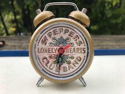 Beatles Sgt Peppers Lonely Hearts Club Band Collectable Alarm Clock