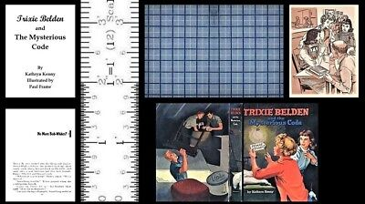 1:6 SCALE MINIATURE BOOK MYSTERIOUS VISITOR TRIXIE BELDEN PLAYSCALE