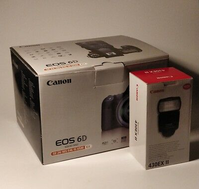 Empty Boxes For Canon 6D And 430Exii