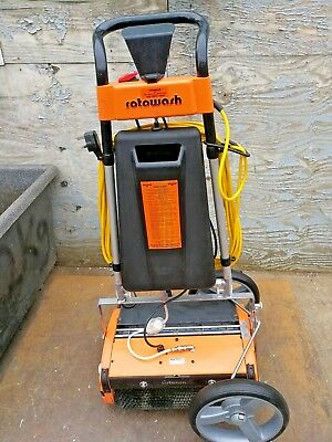 "Rotowash M45 - 17"" Multi Surface Floor Scrubber Dryer  with carriage accessory"
