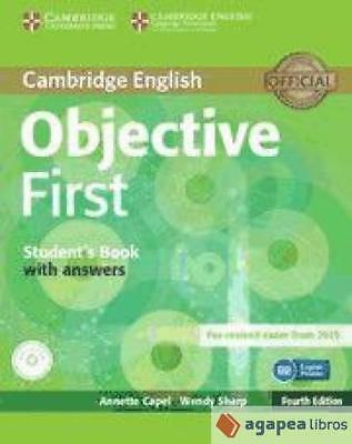 Objective First for spanish speakers self-study pack. NUEVO. ENVÍO URGENTE