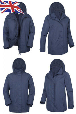 Mountain Warehouse Fell Womens 3 in 1 Jacket -Water Resistant All Season. 93cfdcb3b