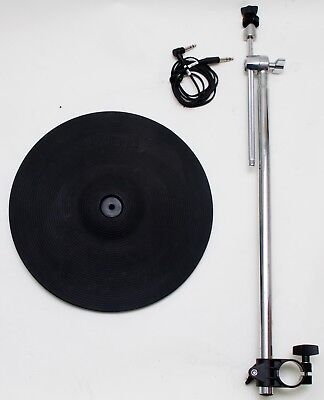 "Roland CY-12R/C 12"" 2-Zone Crash Ride Cymbal Trigger Electronic Drums"