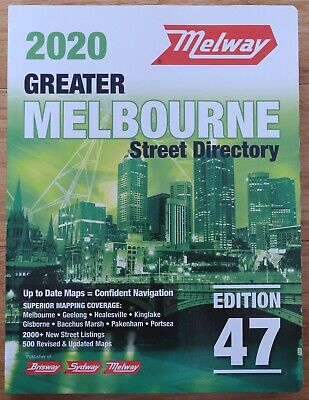 NEW Melway 2020 Greater Melbourne Street Directory Edition 47 *FREE AU POST!*