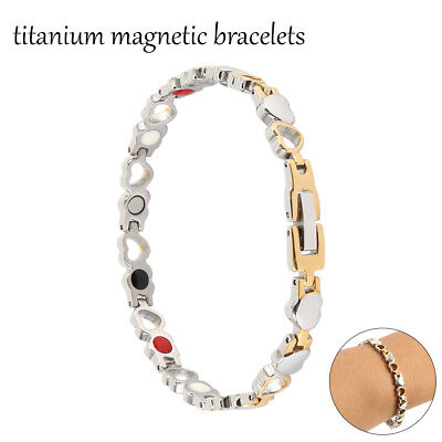 Adjustable Magnet Magnetic Therapy Bracelets Arthritis Pain Relief Bangle