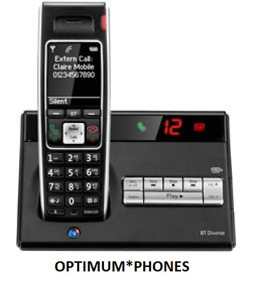Bt Diverse 7450 Digital Cordless Telephone With Answering Machine