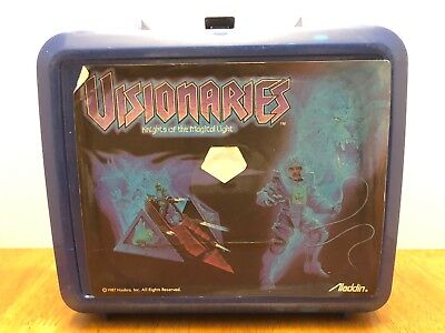 Visionaries  Lunch Box Knights of the Magical Light 1987 Hasbro Vintage