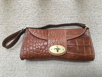96a1dd4ea9 MULBERRY VINTAGE SMALL Zinia Bag In Tan Congo Leather. 100% Authentic. -  £120.00