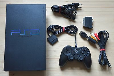 PS2 - Sony Playstation 2 Konsole mit Controller (guter Zustand)