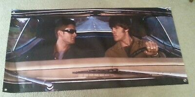 Supernatural Windshield  Sunshade Banner !