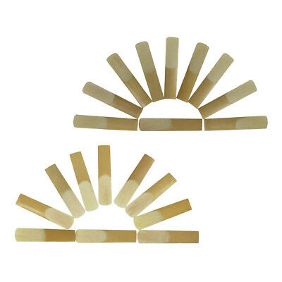 10x Soprano/Tenor Saxophone Sax Reeds for Woodwind Instrument Music Gift