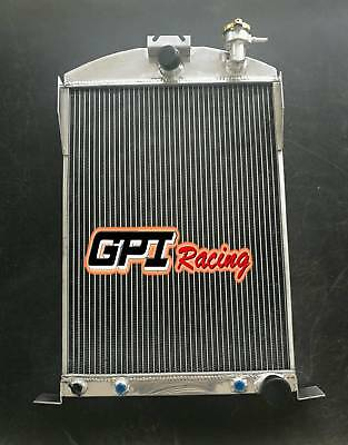 56MM FOR Ford Car W/Chevy 350 V8 AUTO AT 1933 -1934  aluminum radiator