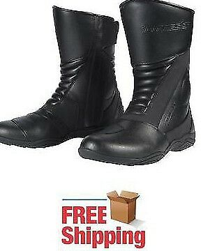 Tourmaster Mens Size 8.5 Solution 2.0 Waterproof Motorcycle Boots 8601020542