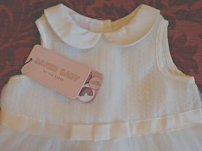 TED BAKER Beautiful Baby Girls Dress Age 0-3 Months BNWT RRP £46