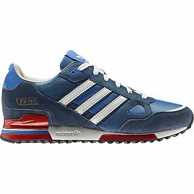 adidas ORIGINALS ZX 750 TRAINERS BLUE RED SNEAKERS SHOES