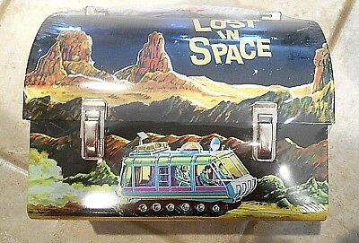 Lost In Space TV Series Full Size Reproduction Dome Lunch Box ** NEW / SEALED **