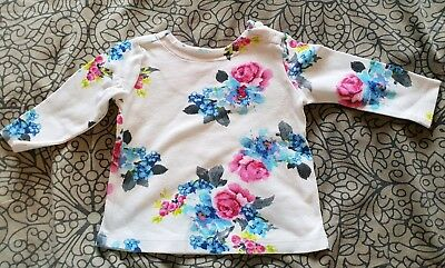 Joules T Shirt Baby Girl 3-6 Months