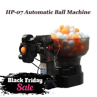 HP-07 Ping Pong Automatic Ball Machine Table Tennis Robots Training 100V-240V