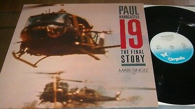PAUL HARDCASTLE - 19 THE FINAL STORY - MAXI-SINGLE not LP ℗ 1985