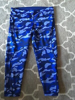 Vineyard Vines Performance Workout Fitted Pants Reversible Camo Sz XL New