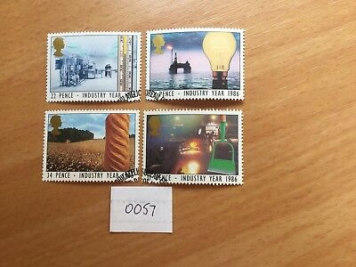 Gb 1986 Industry Year, Stamps