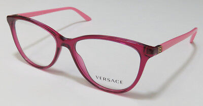 Versace 3194 Cat Eyes Light Weight Stylish Hip Eyeglasses/eyewear/eyeglass Frame