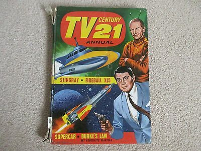 TV 21 Century Annual 1965-Stingray, Fireball XL5, Super car