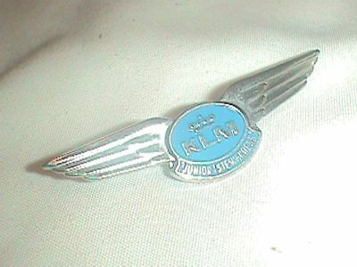 KLM Airlines Stewardess PIN Flying RINGS JUNIOR