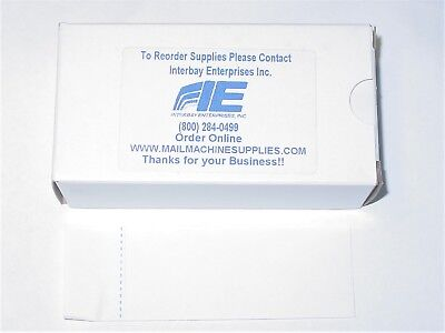 "(300) Postage Meter Tape  Labels  4-3/4"" X 1-3/4 "" OVER 50 BOXES AVAILABLE"