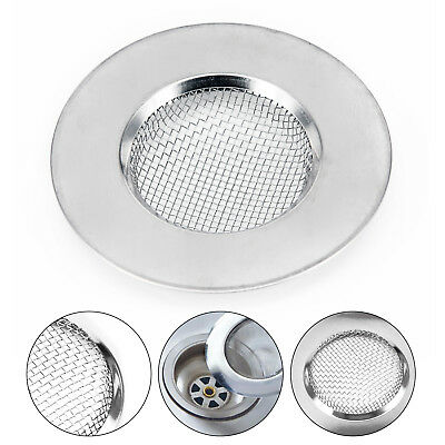 Strainer Mesh Metal Catcher Filte Silver Traps Stopper Sink Multi Functional