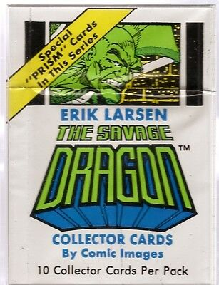 Savage Dragon Base Card Set - 90 cards