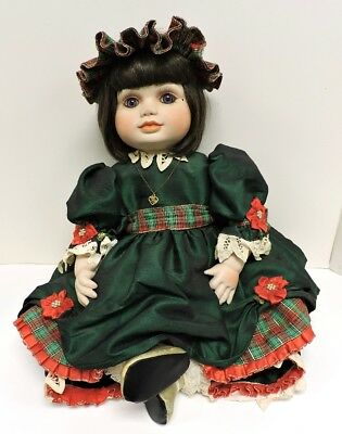 Vintage Marie Osmond, LE Olive May Christmas doll, UFDC 001 – 2019