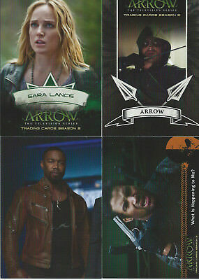 2015-16 Arrow Season 2 -  4 Insert Sets