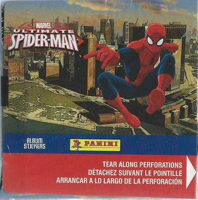 Two Marvel Ultimate Spider-Man Sticker Boxes (50 packs each box)