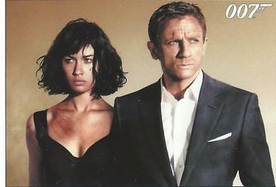 James Bond Quantum of Solace Base Card Set (90 cards)(2015)