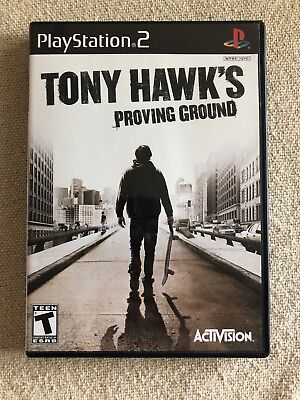 Tony Hawk's Proving Ground COMPLETE GAME for Playstation 2 PS2 system GC SKATER