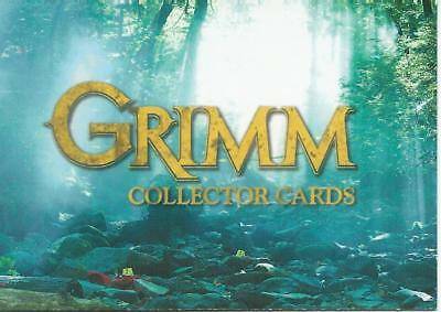 Grimm Season 2  Card Set (72 cards)(2015)