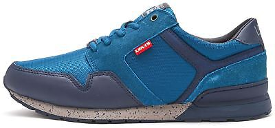 Levis NY Runner II Trainers in Blue Jean 227823-837-10