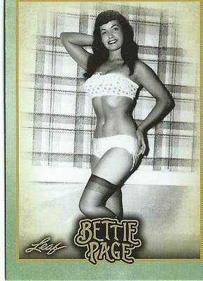 2014 Bettie Page Leaf Base Card Set - 72 cards