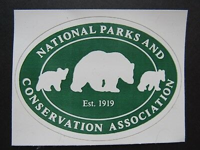 National Parks And Conservation Association Sticker, New !