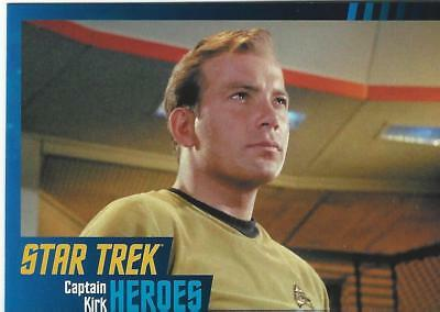 Star Trek Original Series Heroes & Villains Base Card Set (100 cards)(2013)