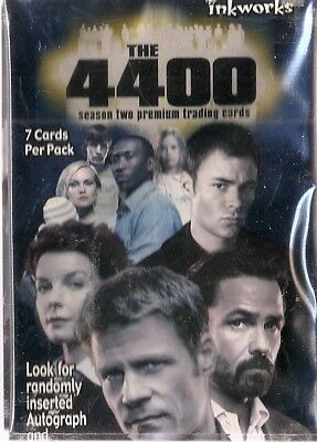 The 4400 Season 2 Base Card Set (81 cards) (2007)