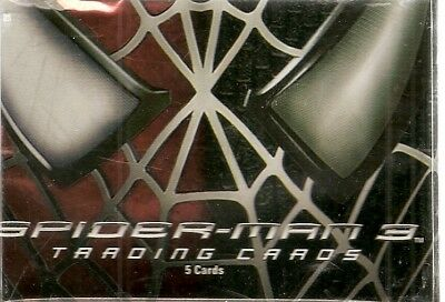 2007 Spiderman 3 Base Card Set (79 cards)