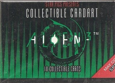 1992 Star Pics Alien 3 Base Card Set (80 cards)